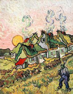 Huile sur toile (réminiscence nordique), 50 x 39 cm, février 1890 (F 674 / JH 1920), Fonstion Barnes, Mérion (Pennsylvanie).  Merci Michelangelo pour la photo : www.flickr.com/photos/47934977@N03/10866366645/in/set-721...