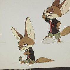 """""""Zootopia""""   © Walt Disney Animation Studios* • Blog/Website   (www.disneyanimation.com) • Online Store   (http://www.disneystore.com) ★    CHARACTER DESIGN REFERENCES™ (https://www.facebook.com/CharacterDesignReferences & https://www.pinterest.com/characterdesigh) • Love Character Design? Join the #CDChallenge (link→ https://www.facebook.com/groups/CharacterDesignChallenge) Share your unique vision of a theme, promote your art in a community of over 50.000 artists!    ★:"""