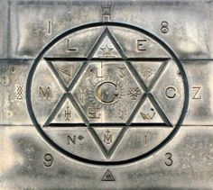 This is one for all the da Vinci code enthusiasts, aspiring Illuminati and Knights Templar conspiracy theorists out there. These symbols above the entrance to Mary's Chapel make Sudoku look easy. Ancient Aliens, Ancient History, Ufo, Templer, E Mc2, Freemasonry, Star Of David, New World Order, Conspiracy Theories