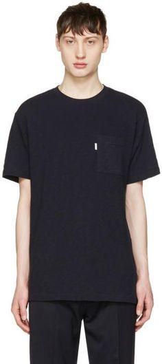 Aime Leon Dore Navy Loose Pocket T-Shirt