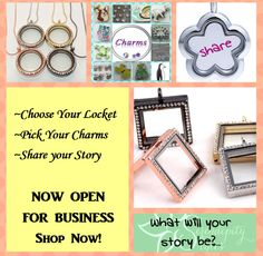 Let our lockets help you to tell your story???....
