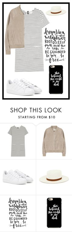 """""""#461 dream like a wildflower"""" by xjet1998x ❤ liked on Polyvore featuring Chinti and Parker, adidas and Janessa Leone"""