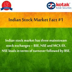 #DidYouKnow the leading Indian stock exchange in terms of turnover?