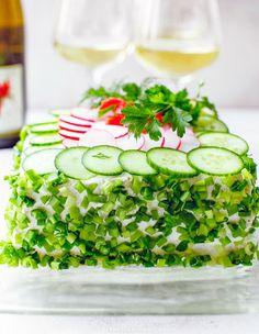 Tort kanapkowy Sandwich Cake, Sandwiches, Avocado Toast, Baby Journal, Healthy Recipes, Breakfast, Polish, Birthday, Weddings