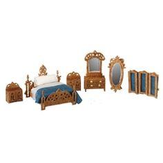 1/144 Scale Victorian Bedroom Furniture Kit