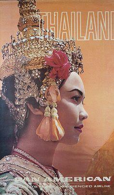 PanAm Thailand Poster