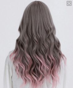 Amazing Ombre Hair Colour Ideas - PoPular Haircuts Charming and unique, rose-ombre hairstyle! Find fabulous shades for your hair color, now at !Charming and unique, rose-ombre hairstyle! Find fabulous shades for your hair color, now at ! Grey Balayage, Pink Bayalage, Dye My Hair, Dip Dyed Hair, Dyed Hair Ombre, Dyed Hair Pastel, Ombre Wigs, Dyed Ends Of Hair, Diy Ombre Hair