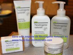 #Sorteo – Línea de productos Neutrogena Naturals 1 Ganador – $40