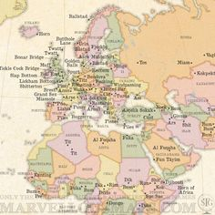 Map of the world s rudest place names is a thing of beauty