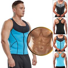 5c8cce9a4f6 Extra Off Coupon So Cheap Men Waist Trainer Vest Sauna Sweat Body Shaper  Tank Top Slimming Trimmer Shirt