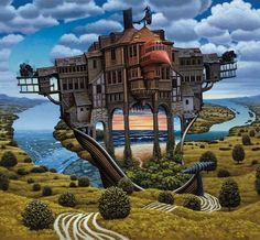 GREAT surrealism images on this site!