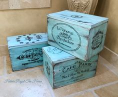 Sans Rival, Royal Tea, Altered Boxes, French Style, Decorative Boxes, Shabby Chic, Facebook, Fun, House