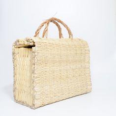 Traditional Portuguese Reed Basket, Panier Portugais, Portuguese Basket Bag, Cesta de Junco, Strohbeutel, Ceira