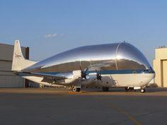 NASA Super Guppy - Converted Boeing Stratocruiser.