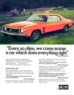 - My list of the best classic cars Australian Muscle Cars, Aussie Muscle Cars, Holden Muscle Cars, Holden Australia, Holden Monaro, Australian Vintage, Car Brochure, Best Classic Cars, Car Advertising