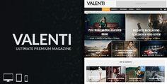 Valenti – HD Review Magazine News Responsive WordPress Theme