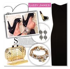 """""""Lizzy James"""" by aida-nurkovic ❤ liked on Polyvore featuring Lizzy James, BOSS Hugo Boss, Chicnova Fashion, Gucci and lizzyjames"""