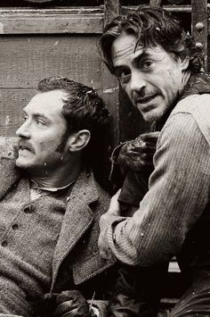 'Sherlock Holmes:A Game Of Shadows' - Robert Downey Jr, Jude Law