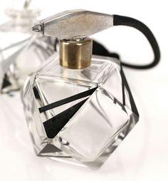 Bohemian Art Deco Karl Palda Glass Perfume Bottle