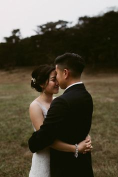 Heartwarming wedding at Headlands Center for the Arts | Image by Amy Winningham Photography