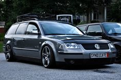 Passat Wagon Lowered | www.vwculture.nl: Another awesome Passat...