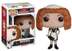 From the cult classic, the Rocky Horror Picture Show Magenta Pop! Vinyl Figure measures approximately 3 3/4-inches tall. #funko #collectible #popvinyl #actionfigure #toy #RockyHorrorPictureShow #MagentaPop