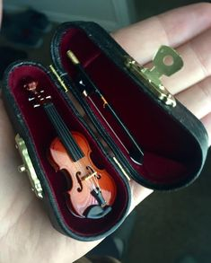 I bought a tiny violin to play when my coworkers or girlfriend complain.