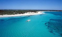 Playa Es Trenc - Mallorca amazing blue water and white beach.