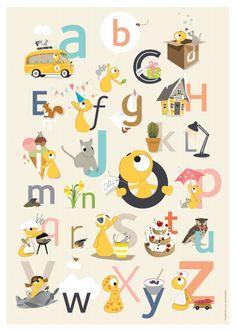 Olli + Jeujeu alfabet, bij ons in de winkel!