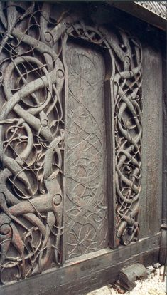 Photo gallery: The six styles of Viking art | ScienceNordic Umes Stave Church, Norway