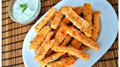 Baked Zucchini Sticks, Onion Rings, Carrots, Lime, Vegan, Vegetables, Ethnic Recipes, Master Chef, Food