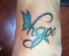 My beautiful PCOS tattoo done by Bora Bora Laura at TRX on Grand.