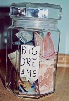 Write down those dreams and collect them in a jar and if you EVER have day where… – Finance tips, saving money, budgeting planner Flower Yellow, Chloe Price, Budget Planer, Life Is Strange, Adventure Awaits, Adventure Travel, Oh The Places You'll Go, Dream Big, How To Plan
