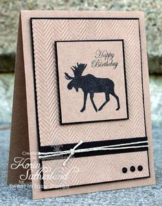 Moose Burgers Anyone? CAS82 by sweetnsassystamps - Cards and Paper Crafts at Splitcoaststampers