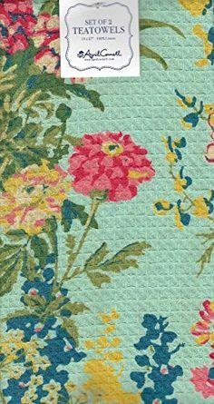 April Cornell Tea Towels Aqua Floral Set of Two Dish Towe... https://www.amazon.com/dp/B06X9F47XC/ref=cm_sw_r_pi_dp_x_tY6SybYK4GY77