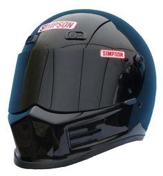 Ministry of Bikes - Simpson Street Bandit Helmet Gloss Black, £263.63 (http://www.ministryofbikes.co.uk/motorcycle-helmets/full-face-motorcycle-helmets/simpson-street-bandit-helmet-gloss-black.html)
