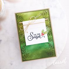 It's Tag Buffet like you never dreamt it! Here I've created Christmas scene background and layered it up with a simple banner inspired by my friend Melody @hammondandpenny. Can't wait to show you more with the Tag Buffet Kit itself in our alternates month this October. Susan Wong @stampinsusanwong Created with the Tag Buffet stamp set (153612). #theCraftyCarrotCo #StampinUp #PaperCraft #HandmadeCard