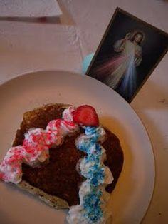Divine Mercy Pancakes
