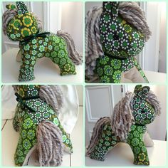 Vintage fabric horsey doorstop £27 from www.facebook.com/jumbleberry