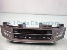 Used 2014 Honda Accord HEATER/AC CONTROL(ON DASH)  79600-T2F-A41ZB 79600T2FA41ZB. Purchase from https://ahparts.com/buy-used/2014-Honda-Accord-Temperature-Climate-HEATER-AC-CONTROL-ON-DASH-79600-T2F-A41ZB-79600T2FA41ZB/111126-1?utm_source=pinterest