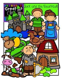 Storybook Characters Clipart