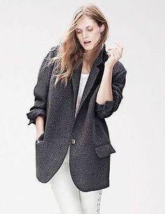 Grijs Isabel Marant pour H&M jas/colbert, 36