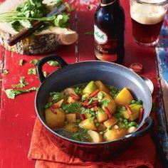 Ierse aardappelstoof met herfstbok