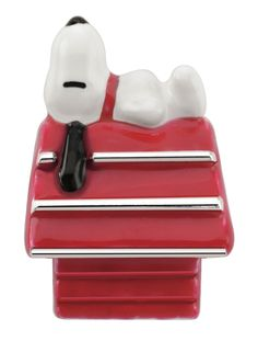 ac0cab1b9 Persona® Sterling Silver Peanuts® Enamel Snoopy on Dog House Bead - Save on Select  Styles - Zales