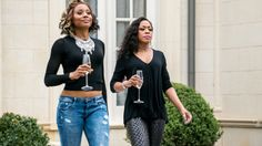 The stars of 'Survivor's Remorse' are redefining the roles black women get to play on TV - Fullact Trending Stories With The Laugh Mixture Survivor's Remorse, Ash Hair, Beautiful People, Black Women, Hair Color, Bomber Jacket, Stars, Cute, Jackets