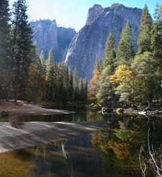 Camping in Yosemite park