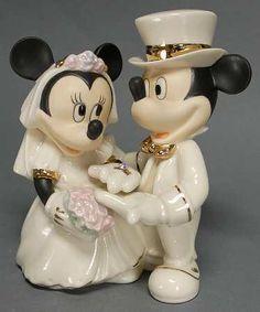 ba7c3be6b69a Lenox Disney Mickey and Minnie s Dream Wedding Figurine