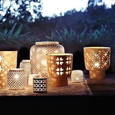 Gorgeous. From here: http://www.westelm.com/products/porcelain-tealight-holders-c096/