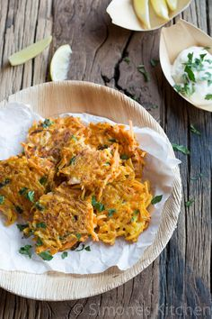Carrot Fritters - Donna Hay #17 | Simone's KitchenSimone's Kitchen    want to do this w/o egg whites