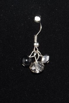 3 Bead Dangle Earrings beaded earrings Simple by NWCreativeCouple